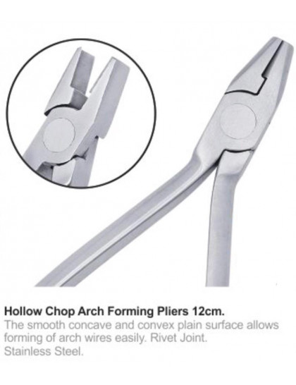 Hollow Chop Arch Forming Pliers 12cm