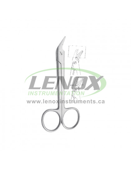 Wire Scissors 120mm Saw edge