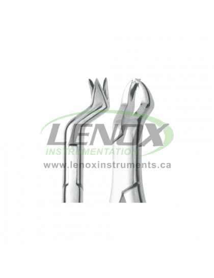 Extracting Forceps Nevius Fig. 88L upper molars, left