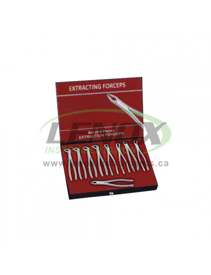 Extracting Forceps Set of 10 Pieces